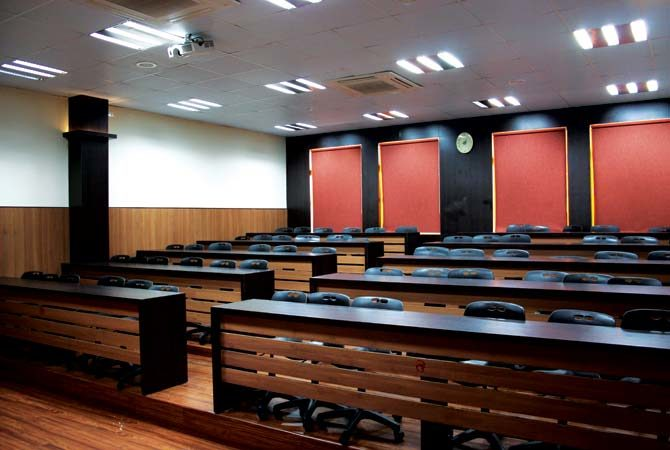 Modern University Classroom ~ Interior for kiit university classrooms l a vation