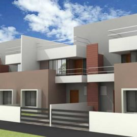 Row House in Bhubaneswar
